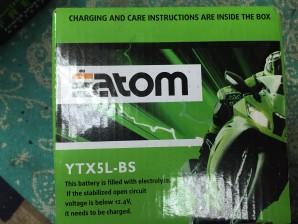 Мото Аккумулятор YTX5L-BS MF